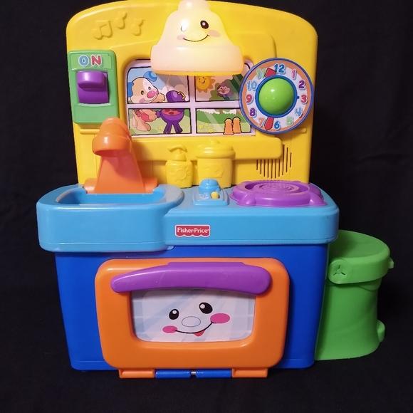 Fisher Price Toys Fisherprice Bilingual Laugh Learn Kitchen Poshmark